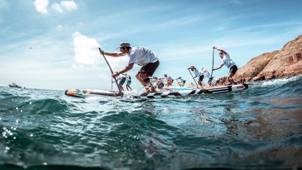 Almería.-Turismo.-Níjar acoge este fin de semana el campeonato de paddle surf Cabo de Gata SUP Festival