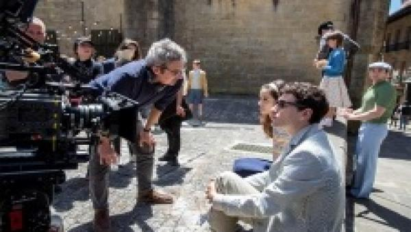 Gipuzkoa acoge el rodaje simultáneo de las series 'Patria' y 'La línea invisible' y de la película 'Akelarre'