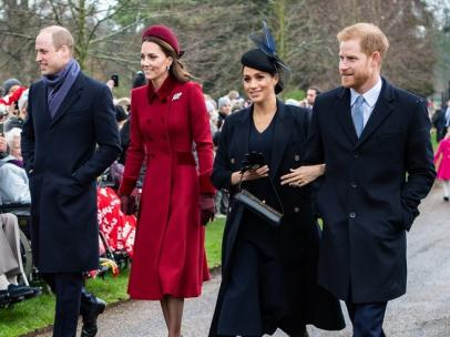 Los Duques de Cambridge, el príncipe William / Guillermo y Kate Middleton, y los Duques de Sussex, el príncipe Harry y Meghan Markle