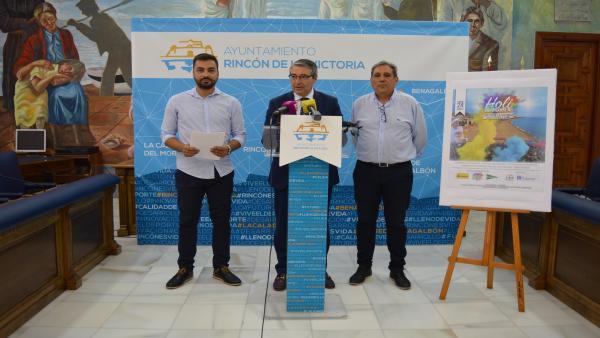 Málaga.- Rincón de la Victoria vibrará con una nueva edición del 'Festival Holi Colours' en agosto