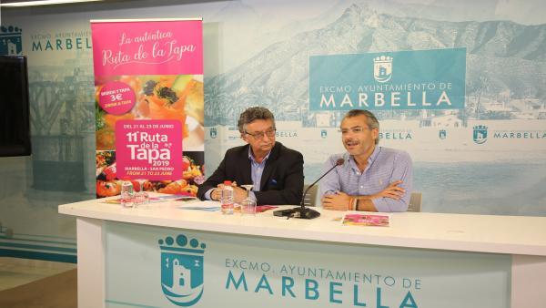 Málaga.- Más de 50 establecimientos participarán en la undécima edición de la Ruta de la Tapa Marbella-San Pedro 2019