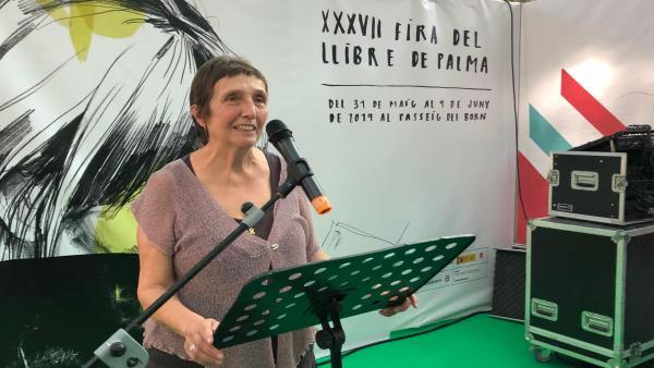 Abeyà destaca en el pregón de la Feria del Libro de Palma la importancia de la transmisión del gusto por la lectura