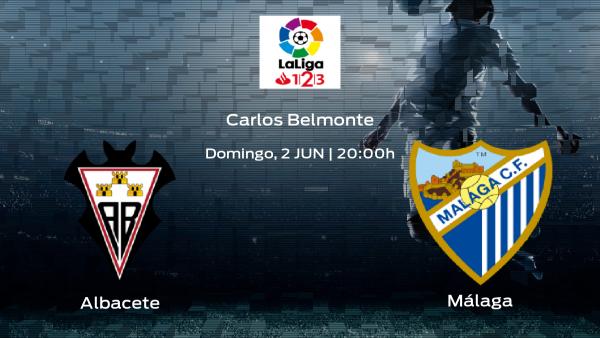 Jornada 41 de la Segunda División: previa del enfrentamiento Albacete - Málaga