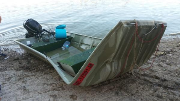 Accidente de barca en el pantano de Mequinenza