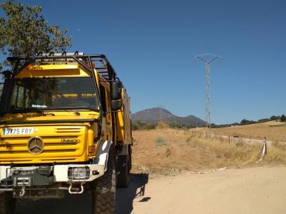 Los incendios de Cabeza del Buey y Peñalsordo se mantienen activos y con el nivel 1 de peligrosidad