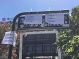 Cambian el nombre a la plaza Margaret Thatcher