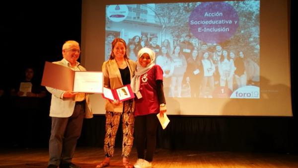 --La Joven Vasca Ainhoa Pérez, Galardonada Por Fundación Esplai Por Su Compromiso Social