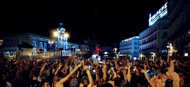 Celebración en masa