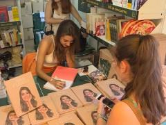 Ana Guerra en la Feria del Libro de Madrid