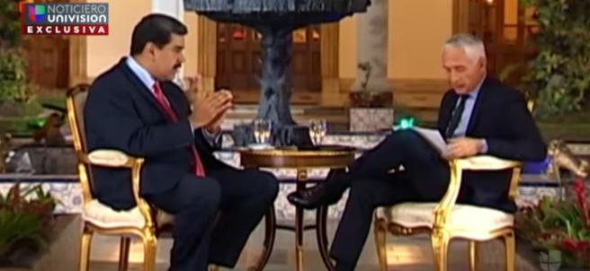 Entrevista de Jorge Ramos a Nicolás Maduro