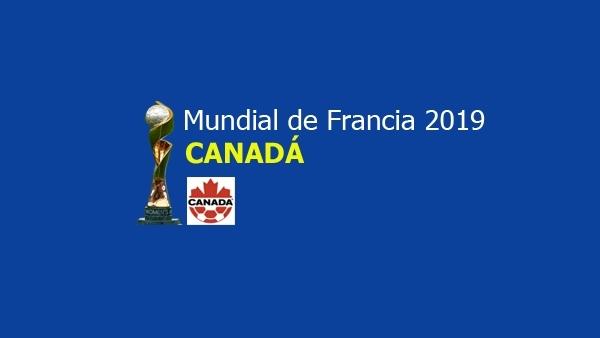 Selección de Canadá para Francia 2019