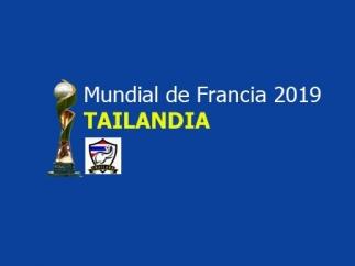 Selección de Tailandia para Francia 2019
