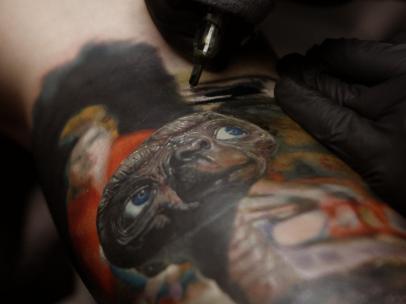 Tatuaje extraterrestre