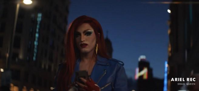 Ariel Rec (Rubén Errebeene) en el anuncio de Gillette