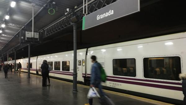 Tren en Granada
