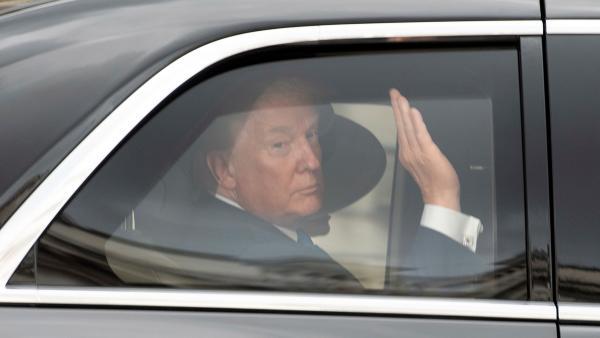 Donald Trump en Londres