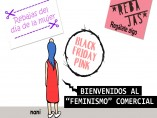 Feria del Libro feminista, viñeta de Nani
