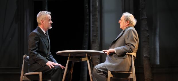 Carlos Hipólito y Emilio Gutiérrez Caba en 'Copenhague'