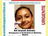 Sucesos.- Buscan a una menor de 16 años desaparecida en Móstoles desde el pasado día 24