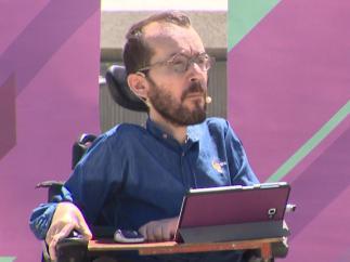 Pablo Echenique, dirigente de Podemos.