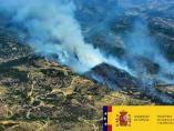 Incendios.- Declarado nivel 1 en un incendio en el Hoyo de Pinares (Ávila)