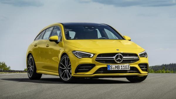 Mercedes-AMG desvela el CLA 35 4Matic Shooting Brake, con 306 caballos de potencia.