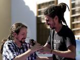 Pablo Iglesias y Alberto Rodríguez