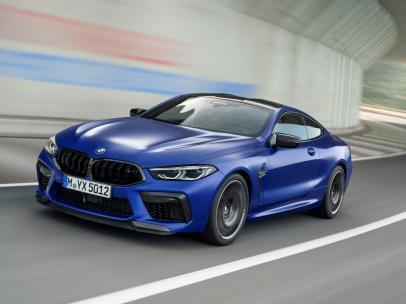 La versión más deportiva del BMW M8 llegará al mercado en septiembre.