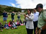 Granada.- Liberan un cernícalo en Sierra Nevada coincidiendo con el Día Mundial del Medio Ambiente
