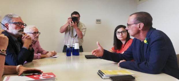 Pueyo reclama a Larrosa que Lleida se acoja a ayudas para contratar técnicos de orientación para temporeros