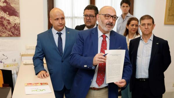 Enmienda de Vox a los Presupuestos andaluces