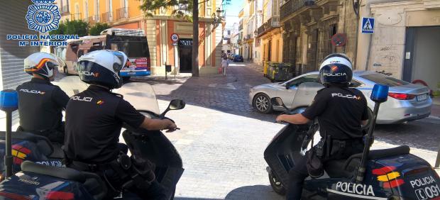 Cádiz.-Sucesos.- Detenido en Jerez tras sorprendido vendiendo cocaína en plena calle