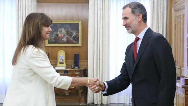 Audiencia del Rey a Laura Borrás Castanyer, de Junts (Junts per Catalunya-Junts)