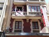 270 Banderas De Logroño Decorarán Los Balcones Del Casco Histórico Estas Fiestas De San Bernabé