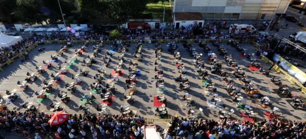 El Libro Guinness oficializa el récord del mayor 'crescendo' de batería conseguido en Quintanar de la Orden