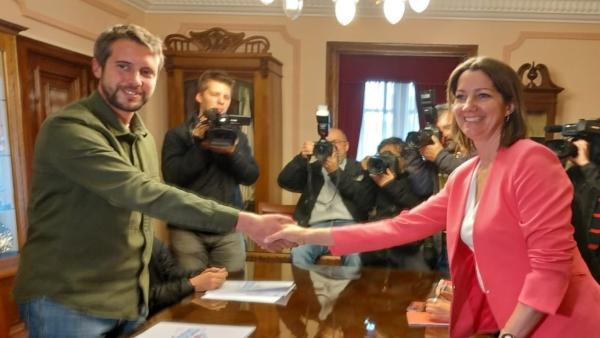 PSOE y BNG se sientan por primera vez para negociar un gobierno bipartito 'estable' para el Ayuntamiento de Lugo
