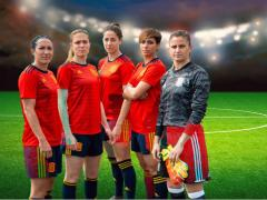 Silvia Meseguer, Celia Jiménez, Vicky Losada, Marta Corredera y Sandra Paños