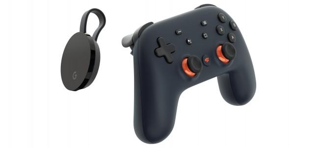 El Chromecast Ultra y el mando Stadia