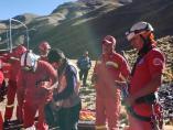 Bomberos Bolivia un español fallecido Los Andes