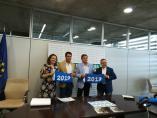 Turismo.-Orellana y Cheles reciben oficialmente sus banderas azules de agua dulce como apuesta por el turismo de calidad