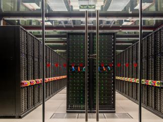 El supercomputador MareNostrum4, en el Barcelona Supercomputing Center.