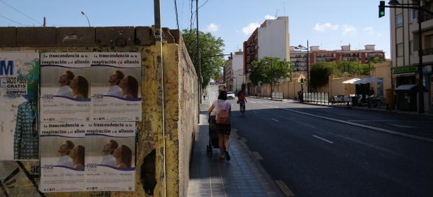 "Adiós a la ""acera de la muerte"" de València"
