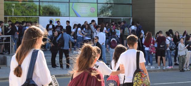Huelva.- Un total de 2.196 estudiantes onubenses se presentan a las pruebas de acceso a la universidad