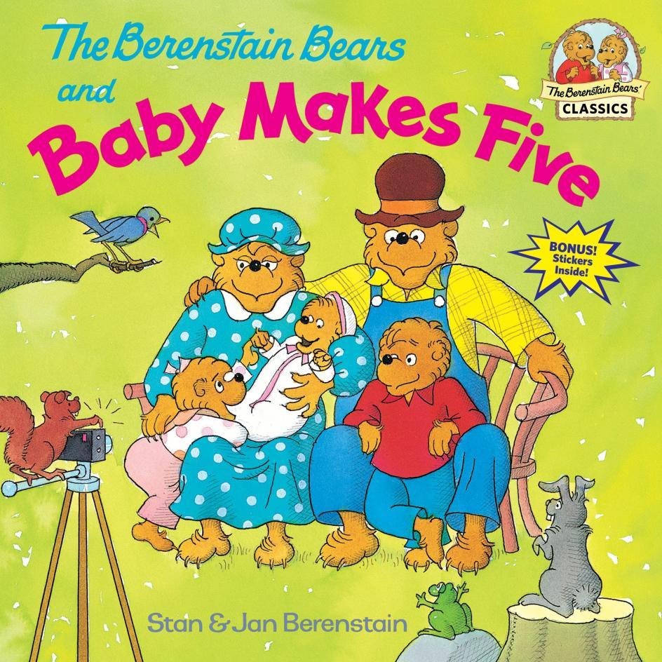 Sagas: 5. Los osos Berenstain. Franquicia de literatura infantil, creada por Stan y Jan Berenstain y continuada por su hijo Mike, que goza de un gran respaldo en ventas. Debutó en 1962 y buena prueba de su éxito son los 260 millones de ejemplares vendidos.