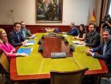 Reunión PP y Vox
