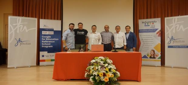 Sevilla.-Google elige al Colegio Portaceli como centro educativo de referencia