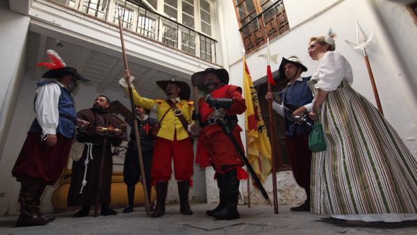 Sevilla.- Recreación histórica en la casa natal de Velázquez por el 420 aniverario del nacimiento del pintor