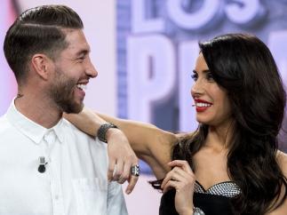 Sergio Ramos y Pilar Rubio
