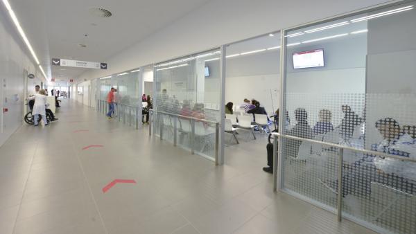Sala de espera de Urgencias