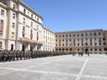 Un total de 800 personas participan en el en el acto civil de jura de bandera de la Academia de Infantería de Toledo